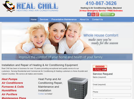 Real Chill Heating and Air Conditioning